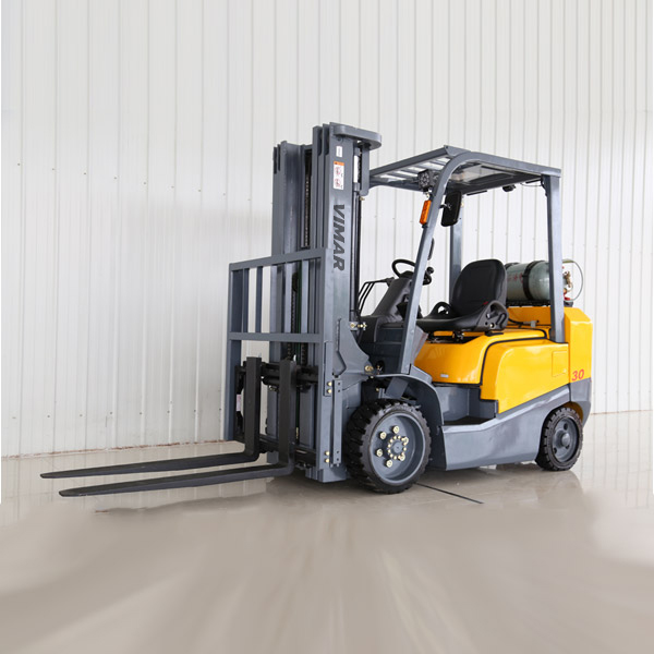 NEW 1,500-3,000lb Cushion tire ATF propane forklift