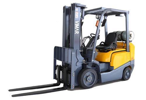 FCG15 – FCG30 New VIMAR Cushion-Tire LPG Forklift (3,000lb – 6,000lb Capacity)