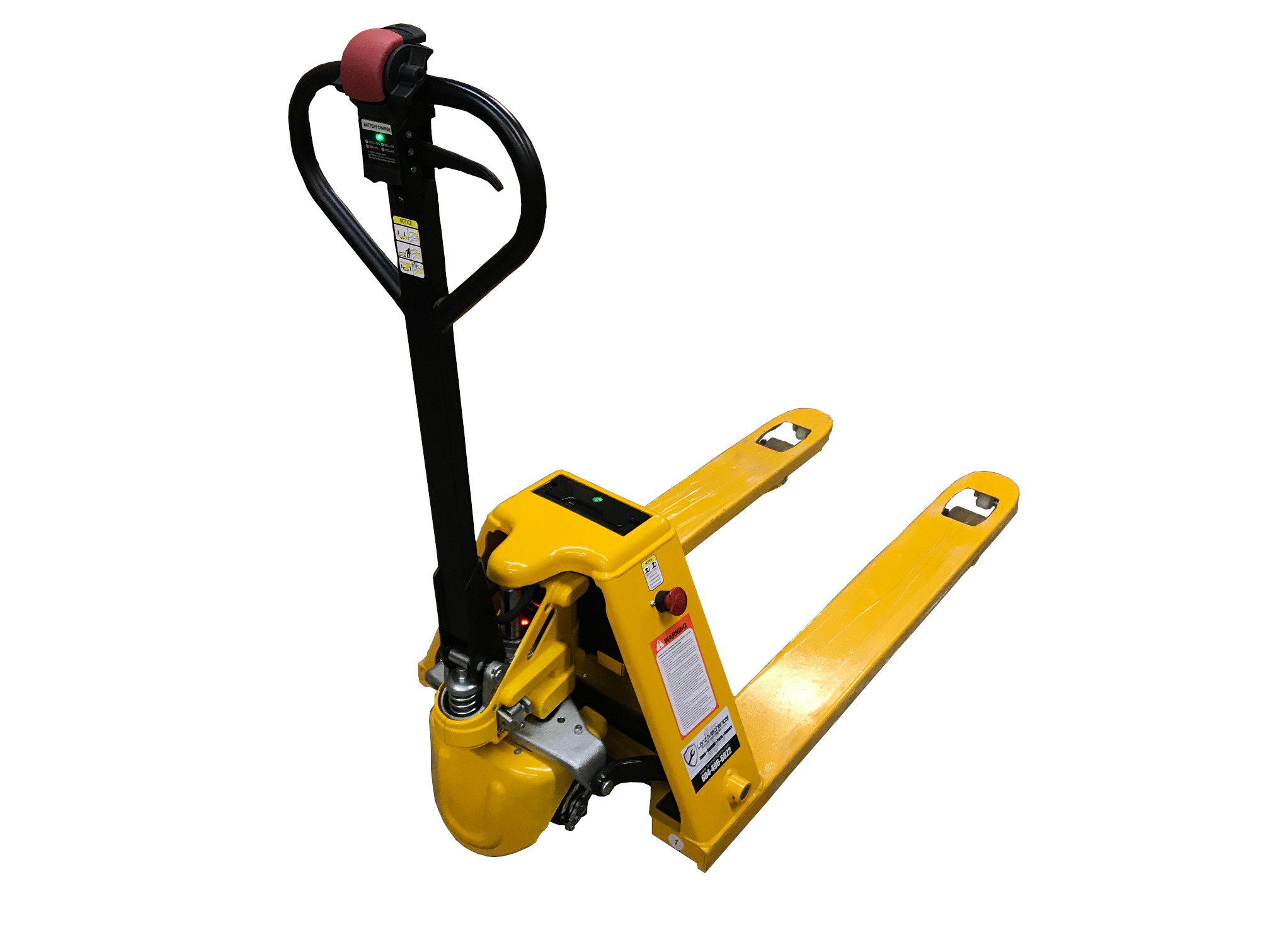 HYBRID FULL-ELECTRIC PALLET TRUCK (3,000 LB Capacity)